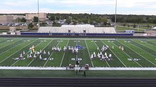 Berryville High School Marching Band performs