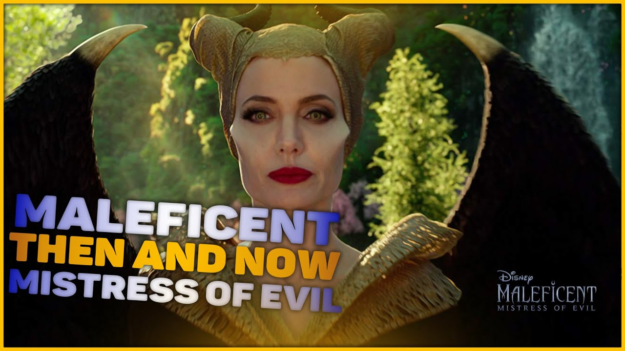 Maleficent Mistress Of Evil Cast Then And Now