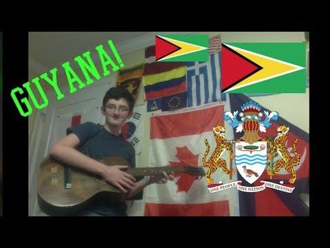 VexillologyHub's World Tour Episode 2: National Symbols of Guyana
