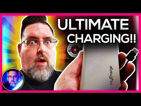 The KING of Power Banks! MyCharge Hub Plus C Portable Charger feat. Travis McP