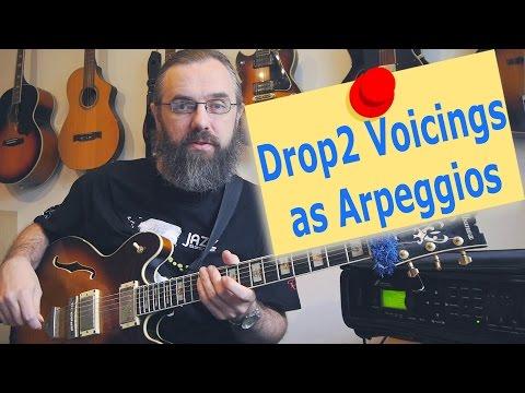 Drop2 voicings as Arpeggios