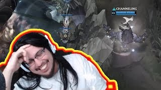 IMAQTPIE REACTS TO INSANE ALISTAR BARON STEAL | LOL Moments
