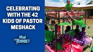 Celebrating With The 42 Kids Of Pst Meshack Mutai (Nam Istering Baba)