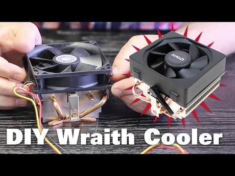 DIY AMD Wraith Cooler – Upgrade Your Cooler For Cheap