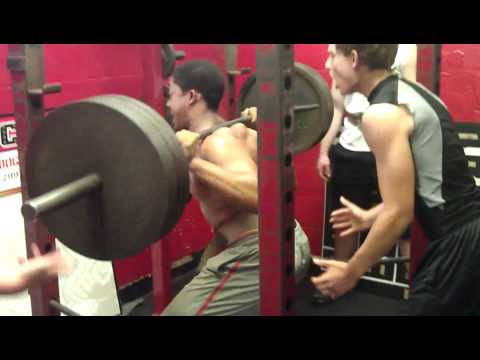 14 year old squats 405