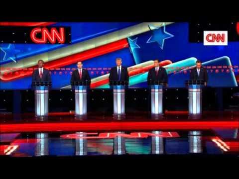 Did Donald Trump win Thursdays CNN GOP Debate in Houston Texas?