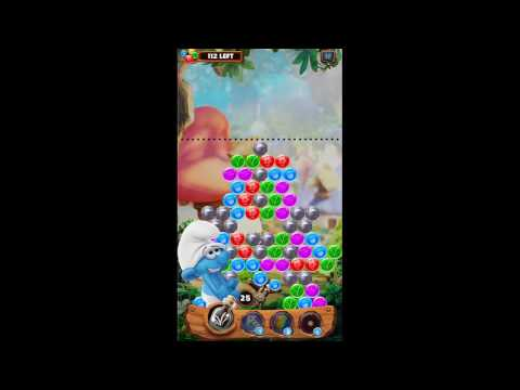 Smurf Bubble Story Game Level 53 | The Lost Village Game