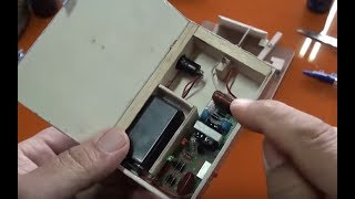 Taser casero 40000 voltios Experimentos caseros