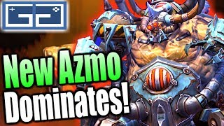 HOTS Azmodan Rework [Live Servers] Gameplay! New Azmodan Guide of Abilities and Talents! (1/4)