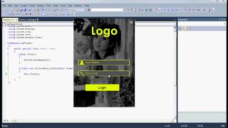كيفية إنشاء تصميم حديث لوحة تسجيل الدخول في C#/ Vb.net