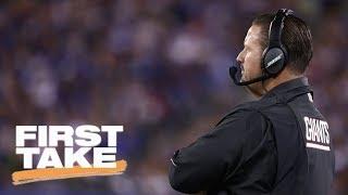 Ben McAdoo is the 'most uninspiring coach' Ryan Clark has ever seen | First Take | ESPN
