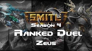 Smite   Ranked 1v1 Duel Masters   Zeus Season 4