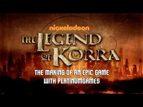 The Legend of Korra - Behind the Scenes with PlatinumGames Part 1