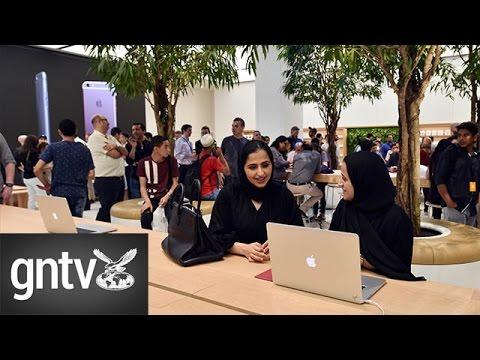 UAE's First Apple Store Opens In Dubai
