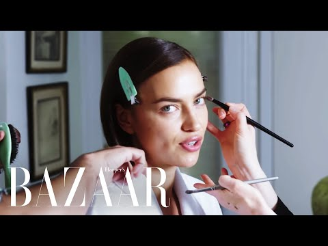Supermodel Irina Shayk Shares Her Beauty Secrets | Get Ready With | Harper's BAZAAR