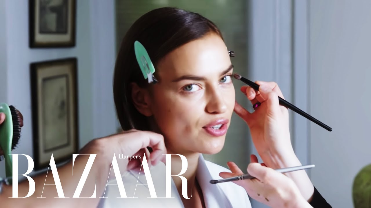 Supermodel Irina Shayk Shares Her Beauty Secrets | Get Ready With | Harper's BAZAAR