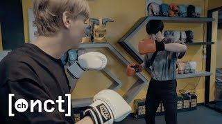 My First Muay Thai Class with HAECHAN in Bangkok🥊มวยไทย | Johnny's Communication Center (JCC) Ep.11