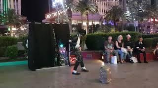 Download Amazing Michael Jackson street performance in Las Vegas