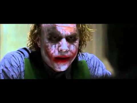 Fav Movie Scenes - Joker's interrogation (The Dark Knight)
