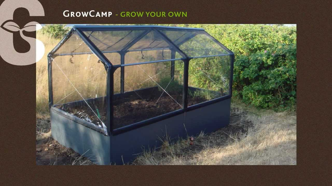 Growcamp Grow Your Own Der Innovative Gemusegarten By