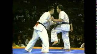Norichika Tsukamoto vs Kunihiro Suzuki - The 6th Karate World Tourn...