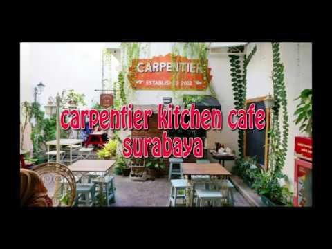concept of interior and exterior cafe design as creative idea by  carpentier cafe surabaya