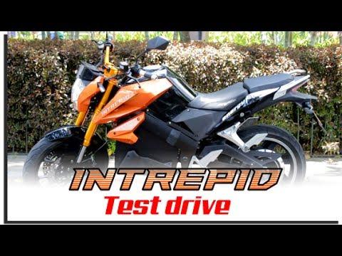 Test Drive motocicleta INTREPID