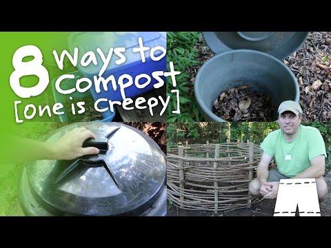 How to Compost - 8 Methods [One is Creepy] | GreenShortzDIY