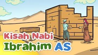 İbrahim'in hikayesi Mekke - Kartun Anak Müslüman Endonezya Kabe'nin İnşa