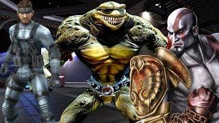 Top Ten Strangest Guest Characters In Fighting Games