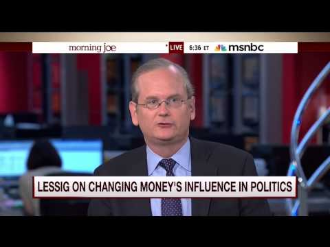 "Larry Lessig: Hillary Clinton ""Nowhere Close"" To Having Moral Authority On Campaign Finance"