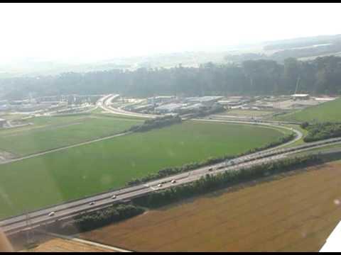 VFR flight over french-speaking part of Switzerland from Yverdon LSGY