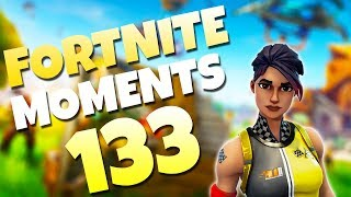 AMAZING SELF ROCKET RIDE WIN!! (CRAZY SNIPE COMBO)   Fortnite Daily Funny and WTF Moments Ep. 133