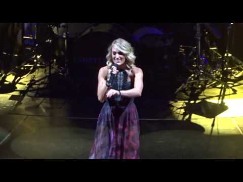 Dirty Laundry - Carrie Underwood - Oklahoma City - November 23, 2016 - The Storyteller Tour