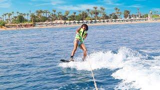 تجربه التزلج على الماء لأول مره أجمل تجربه فى العالم !