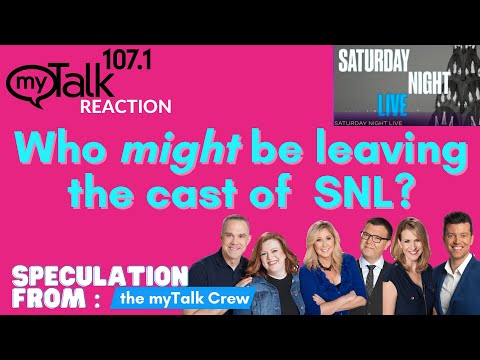 Is Kate McKinnon Leaving SNL? myTalk Reaction and speculation on Saturday Night Live Cast Changes