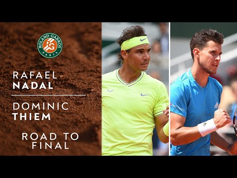 Road To Final Rafael Nadal Vs Dominic Thiem Roland Garros 2019 Youtube