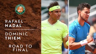 Road to Final: Rafael Nadal vs Dominic Thiem | Roland-Garros 2019