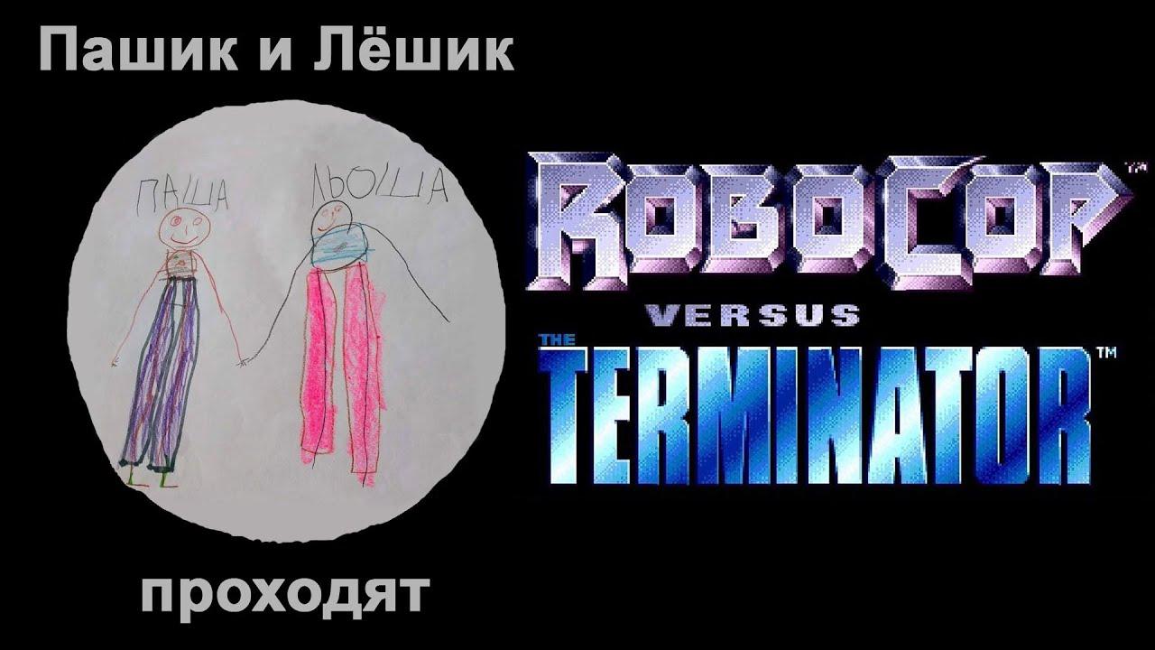 Цельнометаллический обзор игры Robocop Versus The Terminator