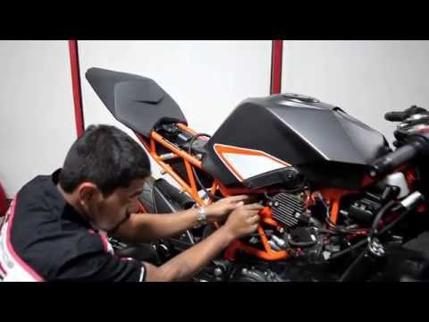 PowerTRONIC Installation - KTM RC200/390