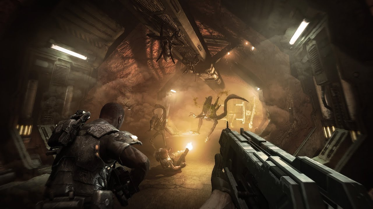 Aliens vs Predator (2010) (Sega, Rebellion) (AvP3) - AvPGalaxy  |Alien Vs Predator Xbox 360 Wallpaper