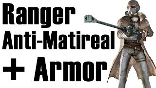 Fallout New Vegas How to get NCR Veteran Ranger armor without NCR infamy and Anti Material Rifle