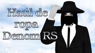 Haúl de ropa por Denom RS (vTuber latino)