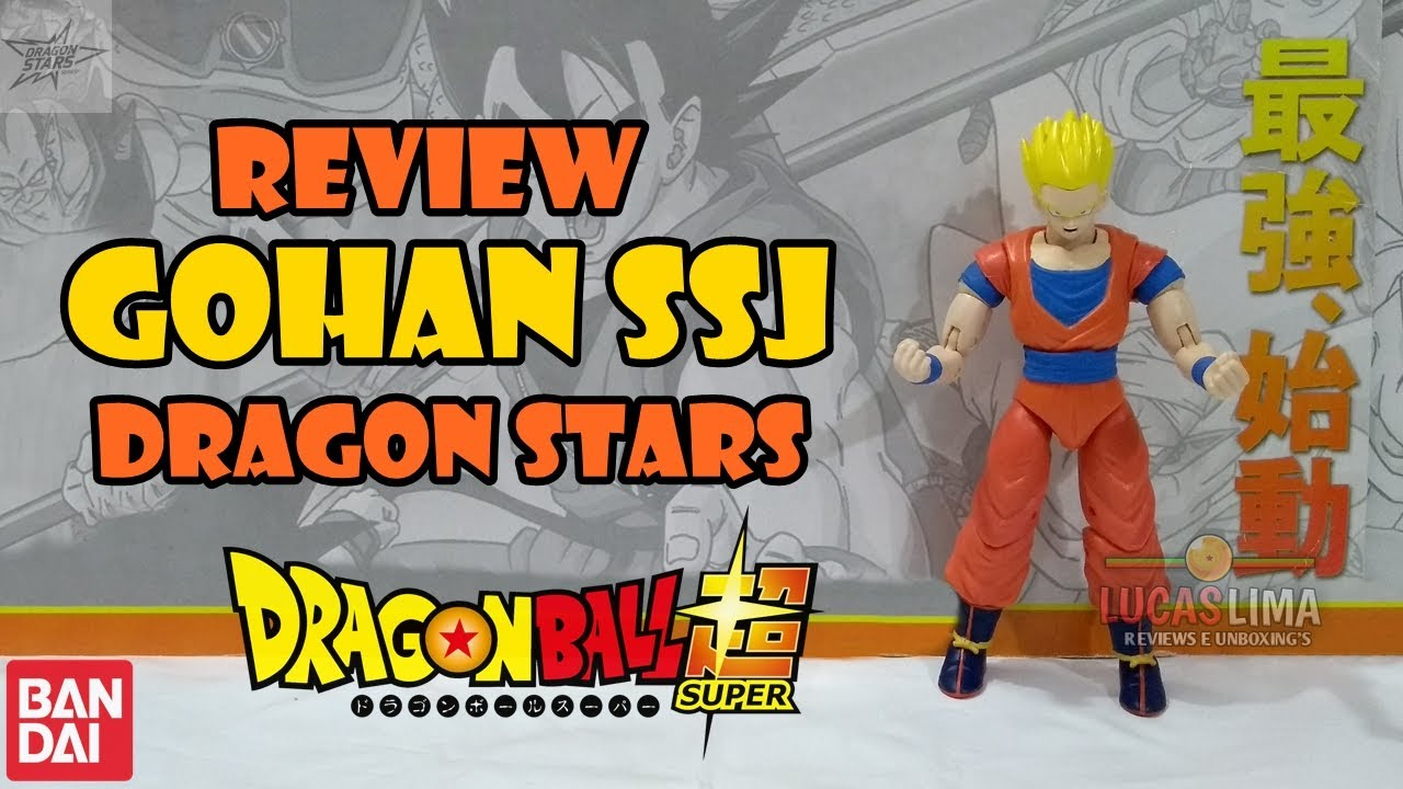 Unboxing & Review Gohan Super Saiyajin - Dragon Stars - Bandai - DBS