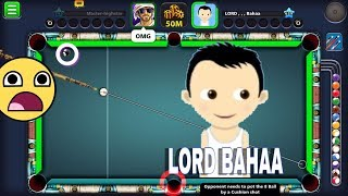 LORD BAHAA / Best Shot in BERLIN history/ 8 Ball Pool