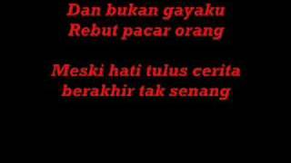 Aliff Aziz-Sayang Sayang (With Lyrics)