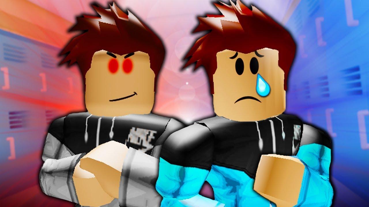 My Evil Twin Ruined My Life A Sad Roblox Movie Youtube