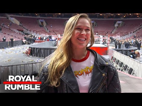 Ronda Rousey reveals her road to WWE and her WrestleMania 34 plans: Exclusive, Jan. 28, 2018