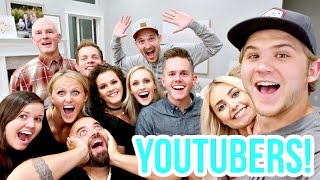 epic youtuber house party mannequin challenge