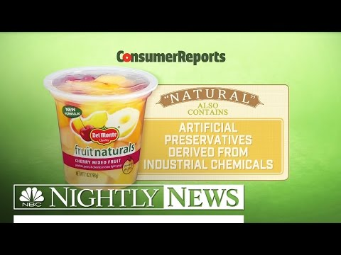 How 'Natural' Food Labels Are Misleading Consumers | NBC Nightly News